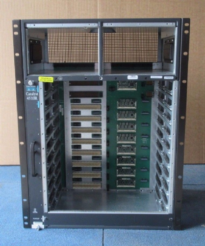 Cisco Catalyst 4500 - WS-C4510r - Modular Slot Switch Chassis - Rack Mountable